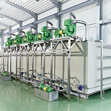 Hand-Beizanlage für Stahlwaschbecken