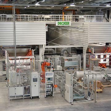 Reinigungslinie für Aluminium-Strukturteile