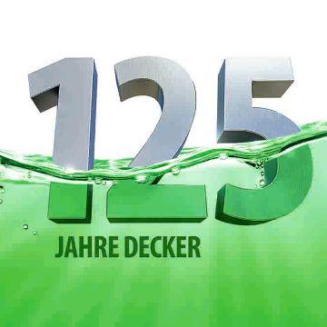 DECKER wird 125 - und feiert mit einem Galvaniktag