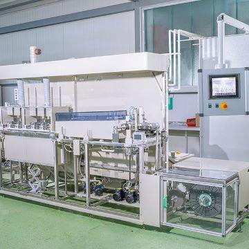 Conveyor system for electropolishing