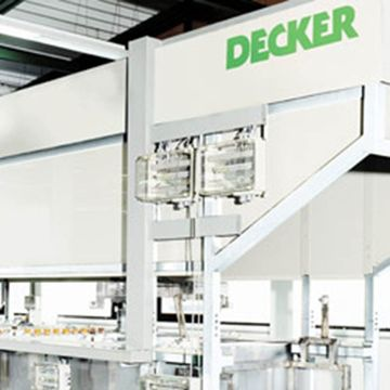 Pickling line for hot-extruded stamping parts
