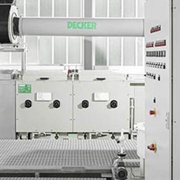 Compact manual anodizing line